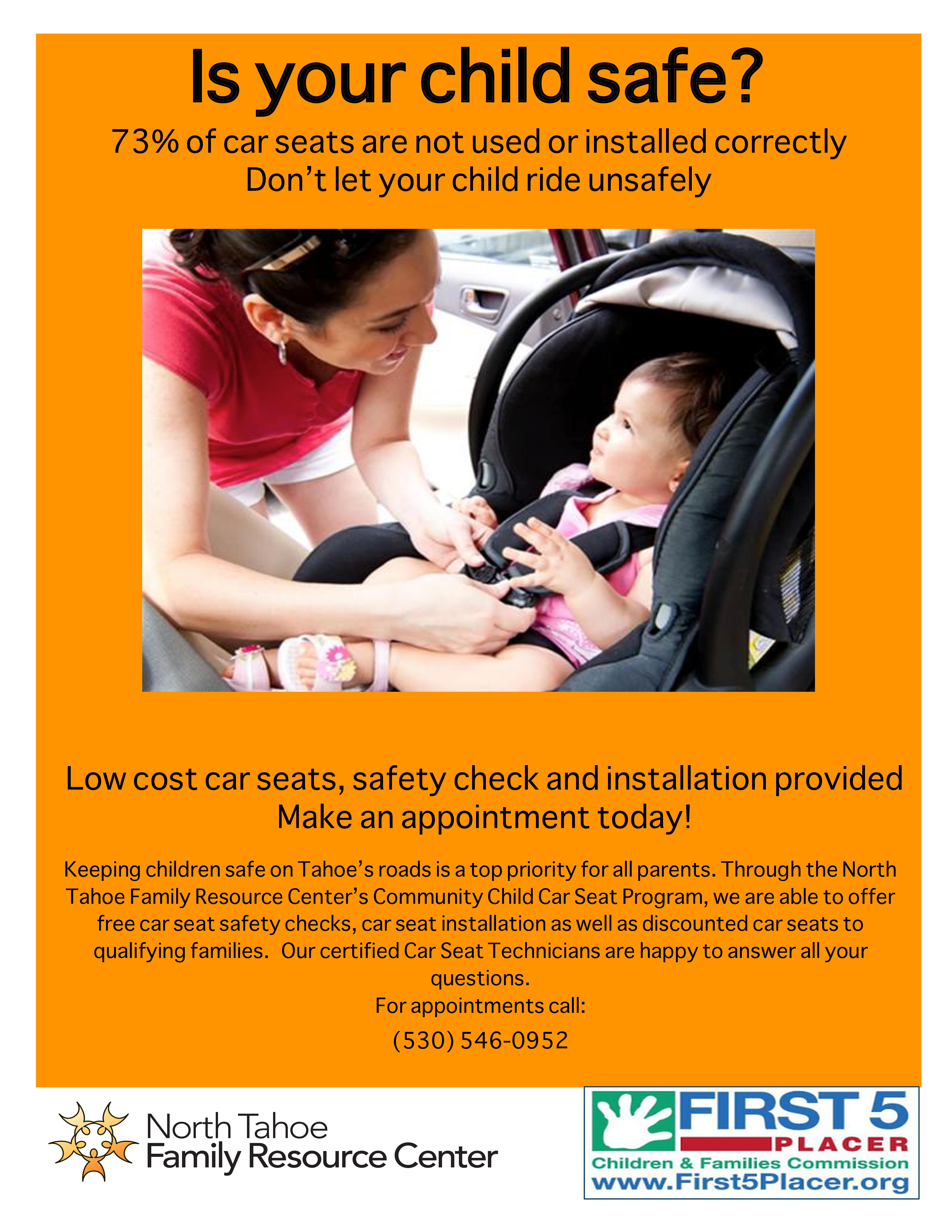 The Car Seat Program Provides Parents With Free Seats As Well Guided Instructions For Their Installation And Use